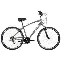 Bicicleta Caloi 21 Marchas Aro 700 Suspensão Dianteira Freio V-Brake 700 2015