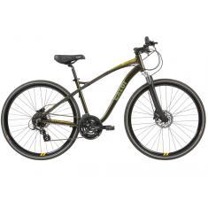 Bicicleta Caloi 24 Marchas Aro 700 Suspensão Dianteira Freio a Disco Hidráulico Easy Rider 2019