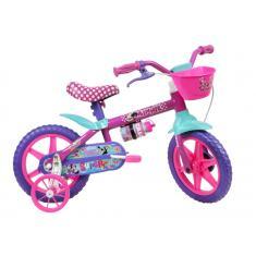 Bicicleta Caloi Aro 12 Minnie