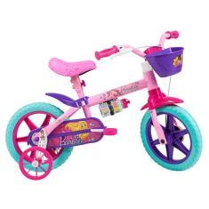 Bicicleta Caloi Barbie Aro 12 2020