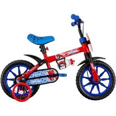 Bicicleta Caloi Homem Aranha Aro 12