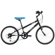 Bicicleta Caloi Hot wheels 7 Marchas Aro 20 Freio V-Brake Linha 2015
