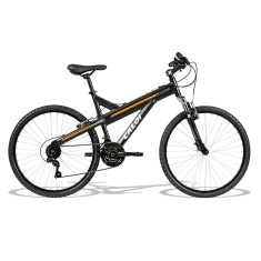 Bicicleta Caloi Lazer 21 Marchas Aro 26 Suspensão Dianteira Freio V-Brake T-Type 2017