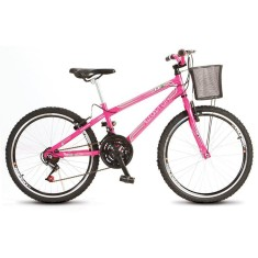 Bicicleta Colli Bikes 18 Marchas Aro 24 Freio V-Brake Allegra City 113