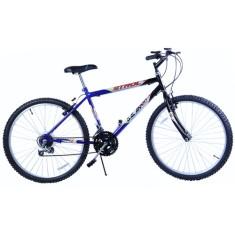 Bicicleta Dalannio Bike 18 Marchas Aro 26 Freio V-Brake Strol