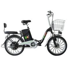 Bicicleta Elétrica Biobike Aro 20 Suspensão Full Suspension Urbana