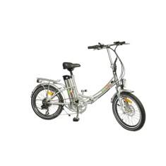 Bicicleta Elétrica Biobike Dobrável Aro 20 Suspensão Dianteira Freio a Disco Mecânico JS 20