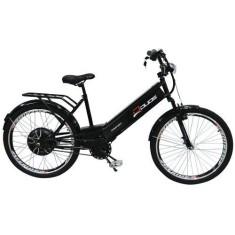 Bicicleta Elétrica Confort Aro 26 Suspensão Dianteira Freio V-Brake Duos