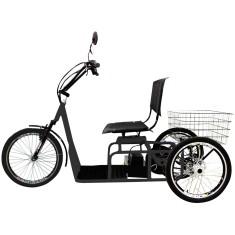 Bicicleta Elétrica Duos Bikes Aro 20 Suspensão Dianteira Freio V-Brake Confort