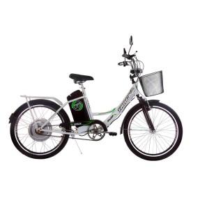 Bicicleta Elétrica Track & Bikes Aro 24 Suspensão Dianteira Freio V-Brake TKX City Plus
