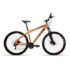 Bicicleta First 21 Marchas Aro 29 Suspensão Dianteira Freio a Disco Smitt 2019