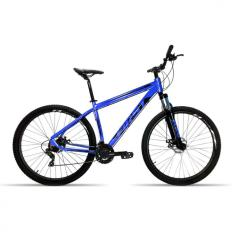 Bicicleta First 24 Marchas Aro 29 Suspensão Dianteira Freio a Disco Hidráulico Smitt 2019