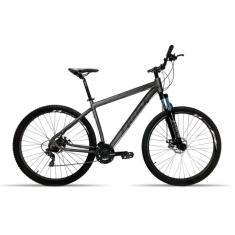 Bicicleta First 27 Marchas Aro 29 Suspensão Dianteira Freio a Disco Smitt 2019