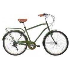 Bicicleta Gama Bikes 6 Marchas Aro 26 Freio V-Brake City Commuter