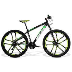 Bicicleta GTSM1 21 Marchas Aro 29 Suspensão Dianteira Freio a Disco Mecânico New Expert 2.0