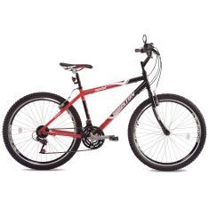 Bicicleta Houston 21 Marchas Aro 26 Freio V-Brake Medal