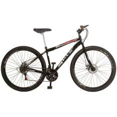 Bicicleta KLS 21 Marchas Aro 29 Freio Disco Mecânico Sport Gold