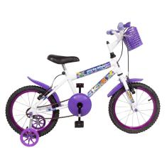 Bicicleta KLS Aro 16 Freio V-Brake Blue Girls