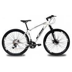 Bicicleta KSW 21 Marchas Aro 29 Suspensão Dianteira Freio a Disco Mecânico XLT