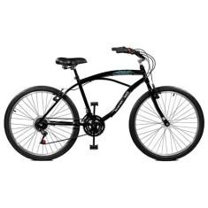 Bicicleta Master Bike 21 Marchas Aro 26 Freio V-Brake Búzios Plus 26040