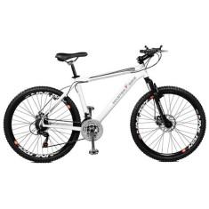 Bicicleta Master Bike 21 Marchas Aro 26 Suspensão Dianteira Freio a Disco Mecânico Volcano