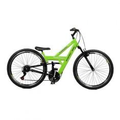 Bicicleta Master Bike 21 Marchas Aro 26 Suspensão Dianteira Freio V-Brake Kanguru Style Rebaixada