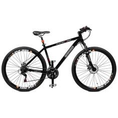 Bicicleta Master Bike 21 Marchas Aro 29 Suspensão Dianteira Freio a Disco Mecânico Extreme