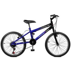 Bicicleta Master Bike 7 Marchas Aro 20 Freio V-Brake Ciclone Plus 20115