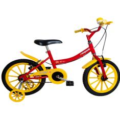 Bicicleta Monark Aro 16 Freio V-Brake Kids