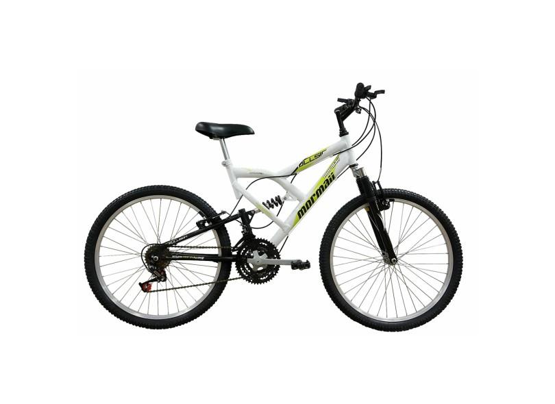 Bicicleta Mormaii Aro 24 18 Marchas Suspensão Full Suspension Fullsion 5ada6bf5b8b