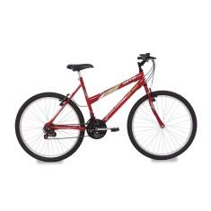 Bicicleta Mormaii 18 Marchas Aro 26 Freio V-Brake Donna