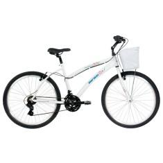 Bicicleta Mormaii 21 Marchas Aro 26 Freio V-Brake Beach Way Pro - Fem