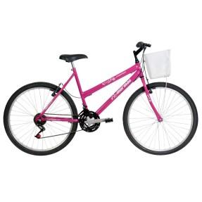 Bicicleta Mormaii 21 Marchas Aro 26 Freio V-Brake Fantasy