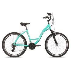 Bicicleta Mormaii 21 Marchas Aro 26 Suspensão Dianteira Freio V-Brake Sunset Way
