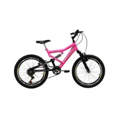 Bicicleta Mormaii 6 Marchas Aro 20 Suspensão Full Suspension FA240