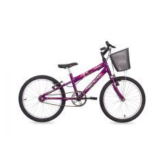 Bicicleta Mormaii Aro 20 Freio V-Brake Kiss com Cesta