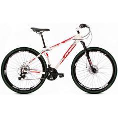 Bicicleta Mountain Bike Alfameq 21 Marchas Aro 29 Suspensão Dianteira Stroll