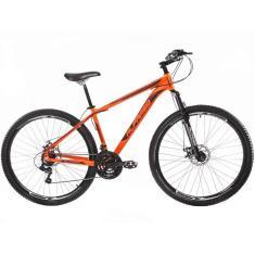 Bicicleta Mountain Bike Alfameq 24 Marchas Aro 29 Suspensão Dianteira Freio a Disco Hidráulico Supreme