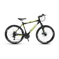 Bicicleta Mountain Bike Alfameq 24 Marchas Aro 29 Suspensão Dianteira Freio a Disco Mecânico Stroll