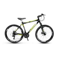 Bicicleta Mountain Bike Alfameq 27 Marchas Aro 29 Suspensão Dianteira Freio a Disco Mecânico Stroll