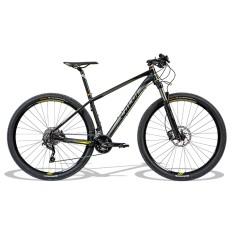 Bicicleta Mountain Bike Caloi 20 Marchas Aro 29 Suspensão Dianteira Freio a Disco Hidráulico Blackburn