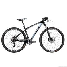 Bicicleta Mountain Bike Caloi 20 Marchas Aro 29 Suspensão Dianteira Freio a Disco Mecânico Elite Carbon Sport