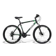 Bicicleta Mountain Bike Caloi 21 Marchas Aro 26 Suspensão Dianteira Freio a Disco HTX Disc
