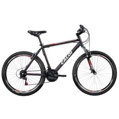 Bicicleta Mountain Bike Caloi 21 Marchas Aro 26 Suspensão Dianteira Freio V-Brake Aluminum Sport 2017