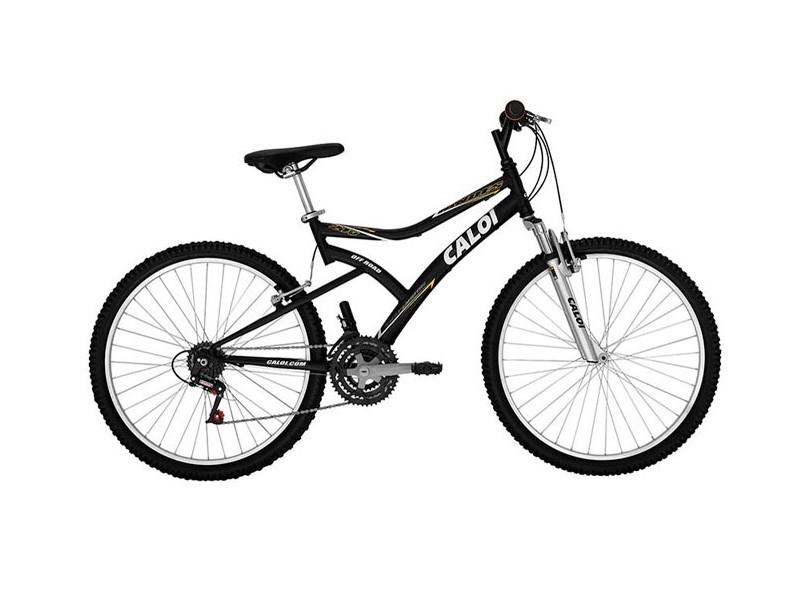 Bicicleta Mountain Bike Caloi Aro 26 21 Marchas Suspensão Dianteira Andes f0091a2472563