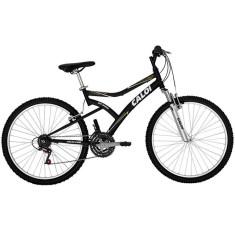Bicicleta Mountain Bike Caloi 21 Marchas Aro 26 Suspensão Dianteira Freio V-Brake Andes