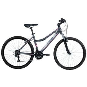 Bicicleta Mountain Bike Caloi 21 Marchas Aro 26 Suspensão Dianteira Freio V-Brake HTX Sport Feminina