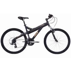 Bicicleta Mountain Bike Caloi 21 Marchas Aro 26 Suspensão Dianteira Freio V-Brake T-Type