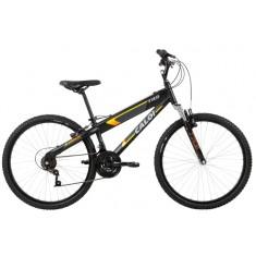 Bicicleta Mountain Bike Caloi 21 Marchas Aro 26 Suspensão Dianteira Freio V-Brake TRS 2018