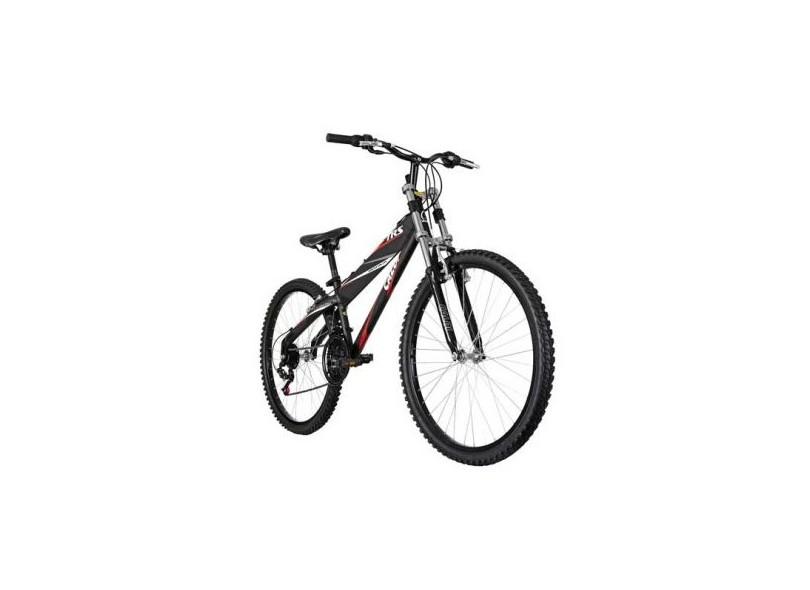 5dd68aedc Bicicleta Mountain Bike Caloi Aro 26 21 Marchas Suspensão Dianteira TRS